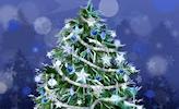 Обои - Новогодняя елка