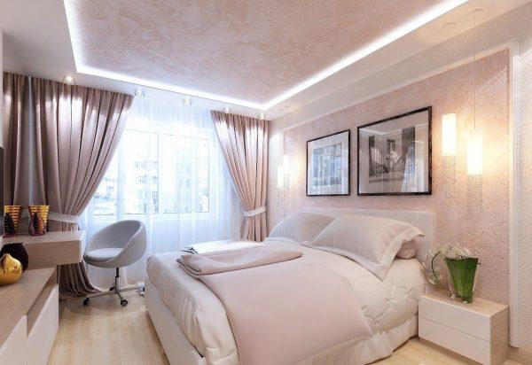 Обустройте свою спальню в романтическом стиле