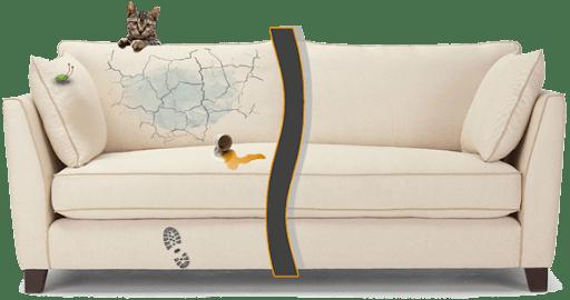 Перетяжка диванов в Москве